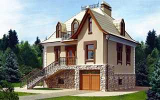 Цокольный этаж загородного дома — архитектурная специфика