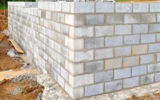 Цокольный этаж из пеноблоков — порядок строительства