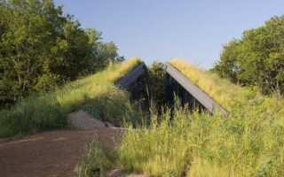 Крыша землянки: как построить кровлю из брёвен для блиндажа