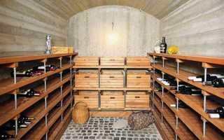 Отделка внутри погреба: как сделать облицовку