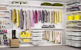 Гардеробная в подвале — делаем комнату для хранения одежды