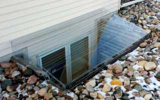 Приямок для окна в подвал — особенности строительства