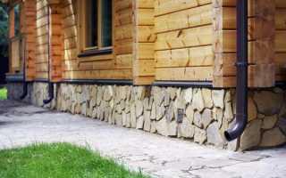 Отделка цоколя деревянного дома: выбор материала и особенности монтажа