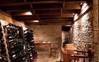 Винные подвалы: обустройство погреба для хранения вина