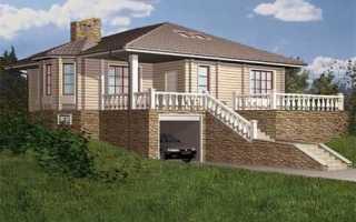 Проекты домов одноэтажных с цокольным этажом: планировка и конструктивные особенности