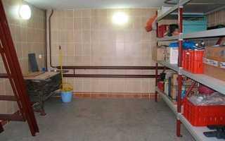 Подвал в гараже — этапы строительства своими руками