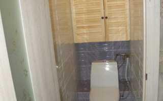 Перенос туалета в кладовку: как сделать санузел