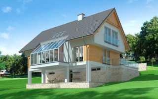 Цокольный этаж на склоне — основы строительства, фундамент