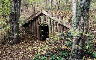 Землянка своими руками в лесу: фото самодельного укрытия и как построить
