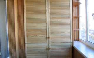 Кладовка на лоджии: фото и обустройство балконов