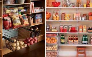 Кладовая в доме для хранения овощей: как обустроить овощехранилище