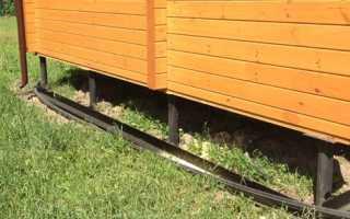 Отделка цоколя дома на свайно-винтовом фундаменте — варианты