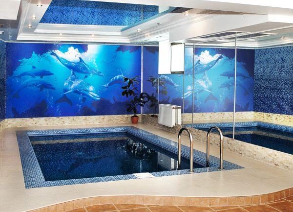 Про бассейн в подвале