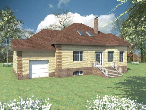 Проекты домов с цокольным этажом