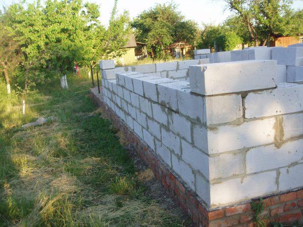 Про блок стен