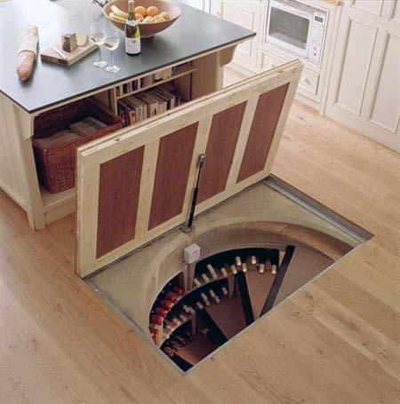 Домашнее компактное подполье