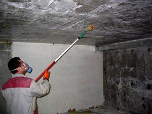 Фото гидроизоляции внутри подвала