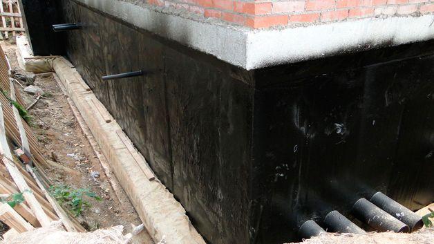 Защита здания от воды