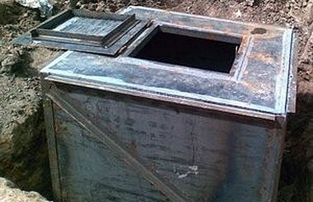 Оклейка погреба рубероидом