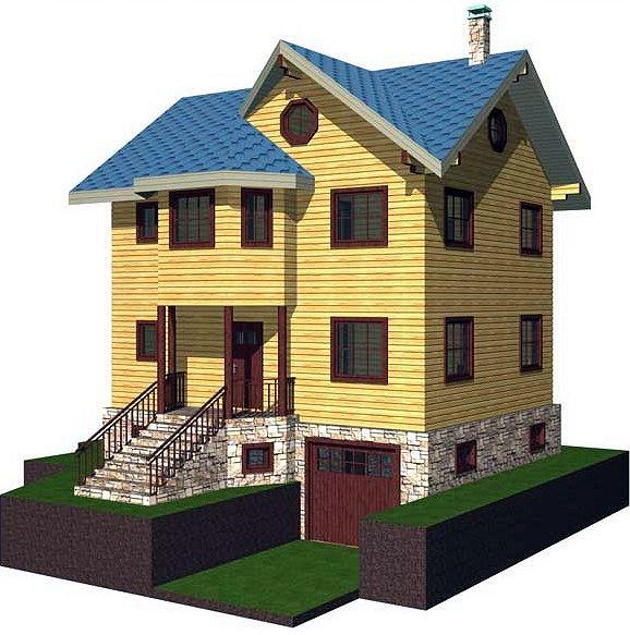 Характеристики пеноблоков позволяют строить здания, весьма эффективные с точки зрения энергосбережения