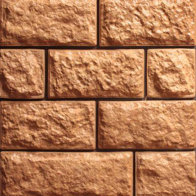 Искусственная плитка для цоколя дома