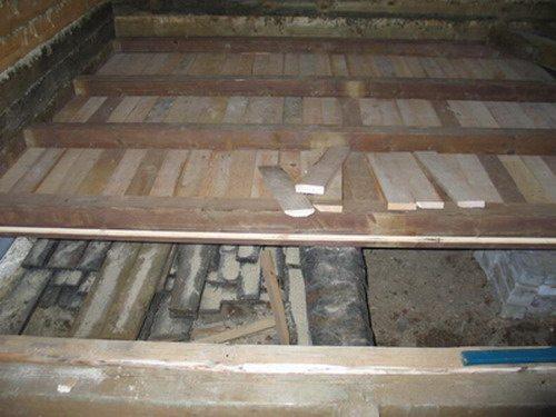 Изготовление деревянного пола