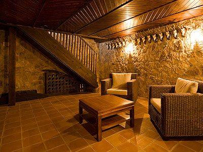 Красивая и удобная комната отдыха