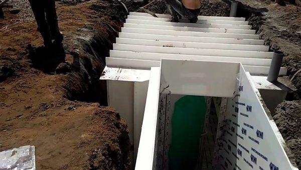 Пластиковый погреб Титан