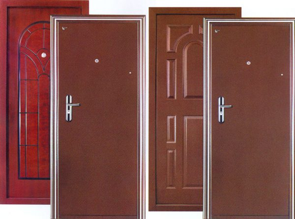 О металлической двери
