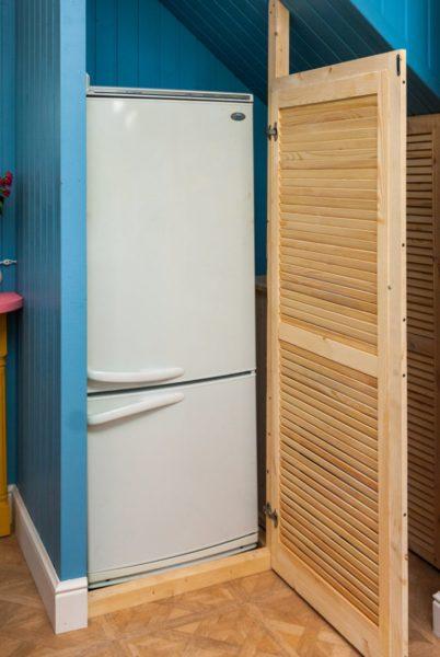 Можно ли ставить морозильную камеру в кладовку?