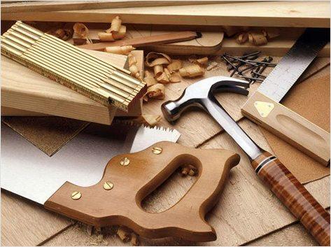 Набор используемых инструментов при работах.