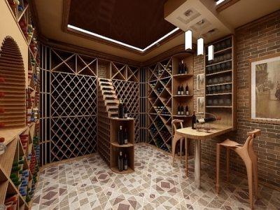 Отличное место доля хранения и дегустации вин