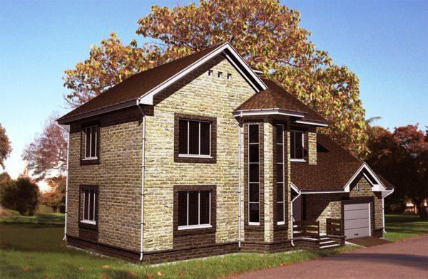 Проект дома с погребом