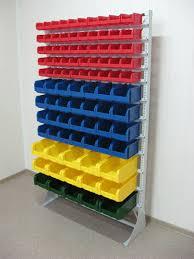 Пластиковые ниши на облегченном металлическом каркасе отлично подойдут для хранения различных продуктов