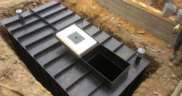 Погреб из контейнера