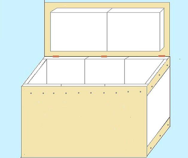 Утепленный ящик