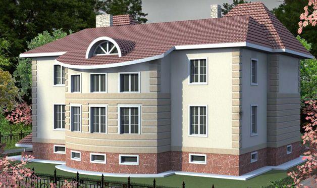 Дом с подземным этажом