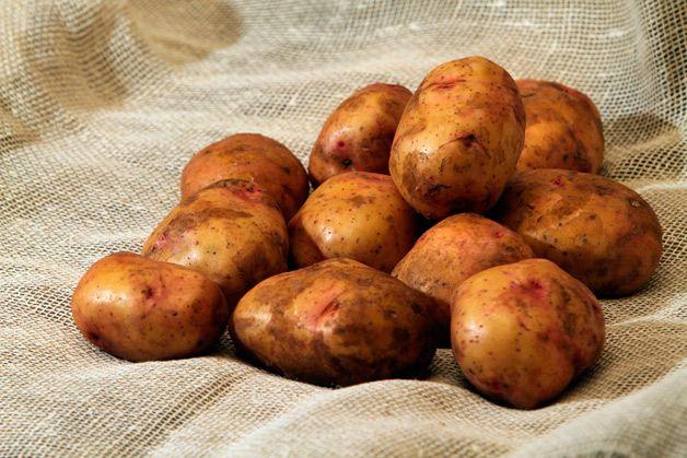 Несколько картофелин