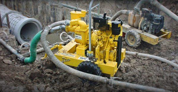 Работы по водоотведению и водопонижению весьма затратны