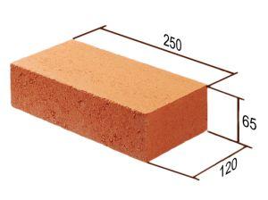 Размеры одинарного полнотелого кирпича