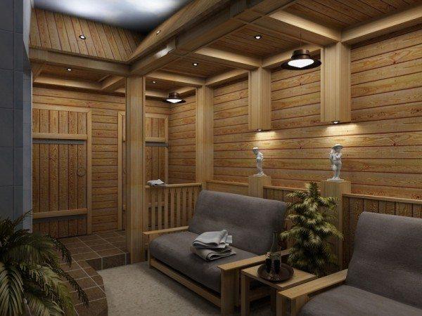 Вариант создания комнаты отдыха